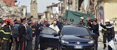 Noticias ao Minuto - Terremoto atinge centro da Itália durante visita do Papa
