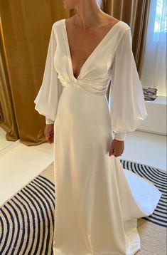 My Big Fat Gypsy Wedding, Wedding Looks, Wedding Pics, Satin Gown, Satin Dresses, Bridal Dresses, Bridesmaid Dresses, Boho Wedding Dress, Dream Dress