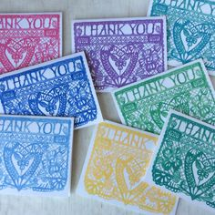 Perfect thank you cards for the holidays! via @emilyroseasher