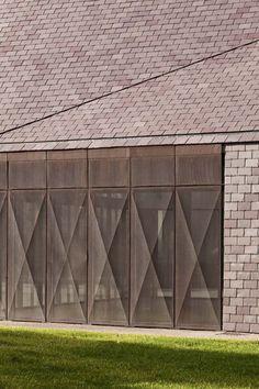 Centro Cultural y de Medios en Gournay en Bray, Francia (AAVP Architecture) - Finalista 2013.