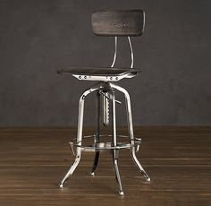 Toledo stool, Restoration Hardware, adjustable height.  $375