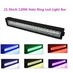 Straight 120w 22 led light bar flash amber white led spot flood shining light bar remote controller 215inch 120w straight led light bar combo beam ip67 waterproof aloadofball