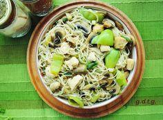 Το Ελληνικό Χρέος στη Γαστρονομία: Thai noodles με κοτόπουλο και κρέμα καρύδας