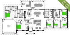 Montego 380 5 Bedroom Acreage Home Stroud Homes Www