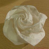 papírrózsa és egy kreatív blog