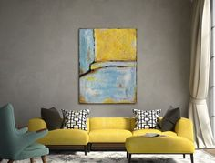 Large Original Abstract Painting by ArtbySonjaAlfreider on Etsy