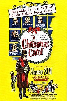"""Scrooge (1951) starring Alastair Sim - the best film version of """"A Christmas Carol"""" ever made."""