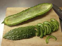 """Goya, or otherwise known as Karela, is a """"bitter-melon"""" fruit that has been used for health benefits in countries all over the world for a long period of time. It grows well in humid and hot climates and can be mostly found in South America and Asia.... #DiabetesCureBitterMelon"""
