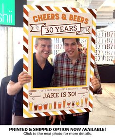 Hey, I found this really awesome Etsy listing at https://www.etsy.com/listing/471440447/cheers-beers-birthday-photo-prop-digital