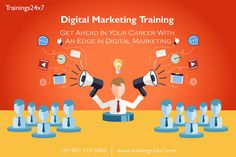 https://flic.kr/p/PxkHco | Digital Marketing Certification Training | Trainings24x7 | Digital Marketing course where you can choose your career. it's going to create 1.5 lakh jobs, The rising demand is also spurred by increased use of the internet and mobile phones besides fast growing e-commerce businesses  WHY SHOULD JOIN TRAININGS24X7 FOR DIGITAL MARKETING? Demo Available 100% Practical Training Training only by PPC Certified and working professionals (we do not compromise with quality)…