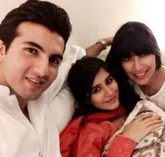 Syra And Shehroz With Their New Born Baby