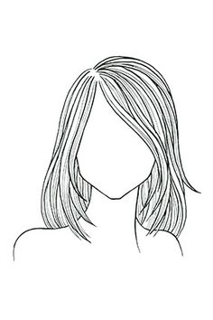 The Very Best Haircut for Your Face - Straight hair, square face. A shoulder-length cut with layers from chin to collarbone softens a strong jaw; sideswept bangs minimize a wide forehead.