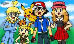 Pokemon: XY by GustavoCardozo97