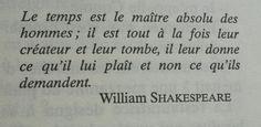 #Temps. #citation #shakespeare