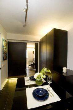Agglegény lakás - 48nm-es stílusos, praktikus otthon, lakberendezés a szállodai lakosztályok hangulatával