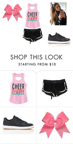 """cheer practice"" by kaylaleann22 on Polyvore featuring Juicy Couture and NIKE"