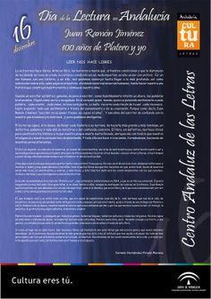 Alocución del #DiadelaLectura en Andalucia: Leer nos hace libres por Carmen Hernández-Pinzón #Plateroyyo