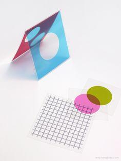 Diy Graphisme Mr Printables Shapes Colors Transparency Paper