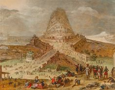 For Kunsthandel P. de Boer, the closing hours of the fair proved very positive, seeing gallery sell one of its major works, a representation of the Tower of Babel. Turm Von Babylon, Wild Bull, Epic Of Gilgamesh, Tower Of Babel, Ancient Mysteries, Historical Art, Construction, 16th Century, Archaeology