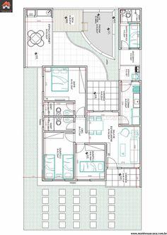 Casa 2 Quartos - 88.27m²