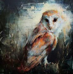 Lindsey Kustusch @ STUDIO Gallery, SF: owl.jpg: