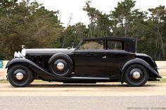 1936 Hispano Suiza J12 Saoutchik Cabriolet