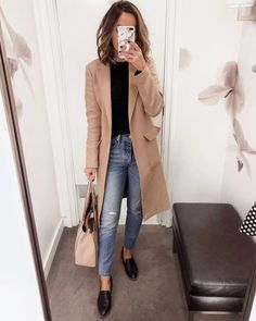 90 Sophisticated Work Attire and Office Outfits for Women to Look Stylish and Chic - Lifestyle State Casual Work Outfits, Winter Outfits For Work, Mode Outfits, Office Outfits, Work Casual, Office Wear, Casual Office, Winter Clothes, Office Style