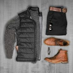 Accessories are important with neutral-colored clothing. Add a cool watch or fun shoes for the pictures.