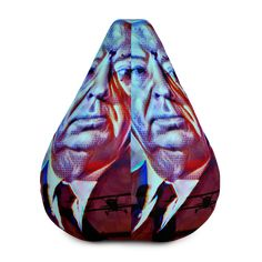 Alfred Hitchcock All-Over Print Bean Bag Chair w/ filling Alfred Hitchcock, Fabric Weights, Sliders, Bean Bag Chair, Horror, Beans, Comfy, Movie, Film Movie