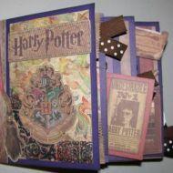 premad scrapbook, scrapbook premad, scrapbook pages, potter scrapbook