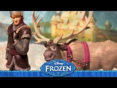 Disney Frozen ✱ Krisoff & Sven ✱ Disney Store Figures Set toys for kids unboxing Frozen Elsa And Anna, Frozen Disney, Rainbow Toys, Prince Hans, Frozen Dolls, Disney Princess Cinderella, Ice Castles, Snow Queen, Doll Toys