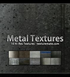 Free Texture Pack for Commercial Use – Metal Game Textures, Photoshop, Texture Packs, Metal Texture, Article Design, Mood Boards, Background Images, Surface, Blog