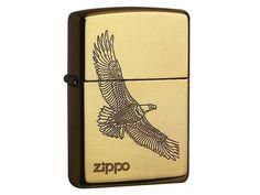 Zippo Zippo-Feuerzeug, Eagle / mehr Infos auf: www.Guntia-Militaria-Shop.de