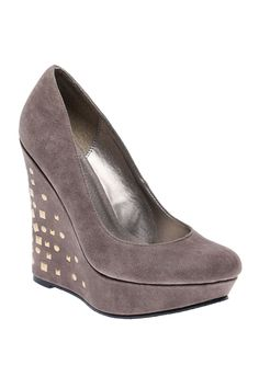 Gray Wedge with Sparkle.