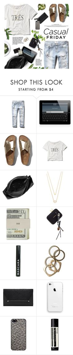 """""""Casual Friday"""" by kearalachelle ❤ liked on Polyvore featuring Abercrombie & Fitch, Maison Margiela, Gorjana, Jack Spade, Guide London, Rachel Leigh, Vince Camuto, Tarxia, Aesop and casual"""