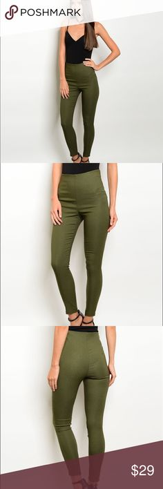 Coming soon. Fitted waist zip closure skinny pants.  Fabric Content: 74% RAYON 22% NYLON 4% SPANDEX  ❌Trades ✅ Price Firm ✴️ Bundles Save 20%  Also available in Wine Pants Skinny