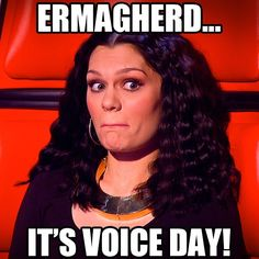 Yep. It's KNOCKOUT weekend. Round 1 tonight 8:30PM BBC ONE. #thevoiceuk #jessiej #meme