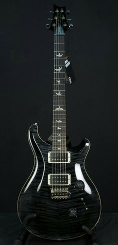 PRS Custom 24 stealth black
