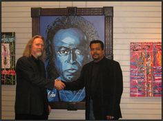 A friendly hand shake between artist Neal, and Gary Bixler after Gary's art show called the Rose.Portrait of Miles Davis by Neal Hamilton Neal Hamilton - Paint Out Loud, LLCNeal Hamilton - Paint Out Loud, LLCNeal Hamilton - Paint Out Loud, LLCNeal Hamilton - Paint Out Loud, LLCNeal Hamilton - Paint Out Loud, LLCNeal Hamilton - Paint Out Loud, LLCNeal Hamilton - Paint Out Loud, LLCNeal Hamilton - Paint Out Loud, LLCNeal Hamilton - Paint Out Loud, LLCNeal Hamilton - Paint Out Loud, LLCNeal…