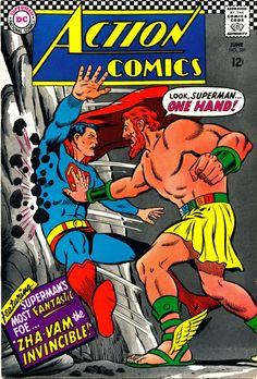Action Comics 351 Superma n Comic Cover hi-res __ TROIS __
