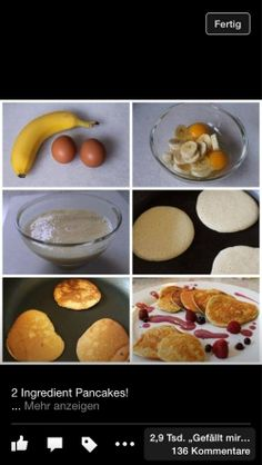 Eggs + bananas = healty sweetness
