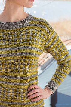 Ravelry: Block Island Sweater pattern by Allyson Dykhuizen