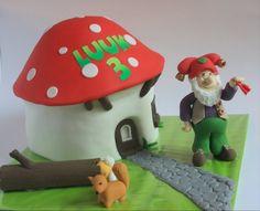 Kabouter Plop taart ~ gedecoreerde taarten in Belgie