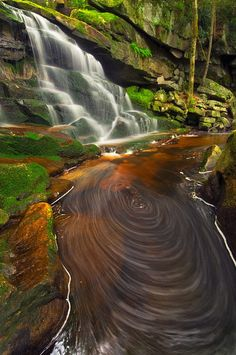 Black water falls state park West Virginia.... photo by Joseph Rossbach