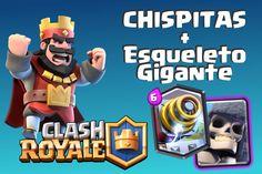 Pagina nueva de Clashroyale realizada por los integrantes de Jocaagura. Portal, Giant Skeleton, Products