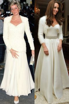 Princess Diana and Catherine Duchess of Cambridge Photo (C) Getty Images
