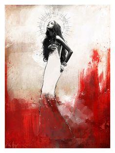 Sangre Lorca, De Sangre, Digital De Artista, Bodas De, Vs Novia, Fascinantes Ilustraciones, Azahares, Crimen, Ilustración Del Arte