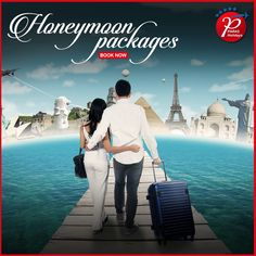 Your honeymoon is the most memorable and exciting part of your marriage. Make it an exquisite and exotic one. Plan your honeymoon trip with Paras Holidays and make memories that will remain fond all your life. Call Now- Honeymoon Tour Packages, Honeymoon Trip, Best Honeymoon, Southeast Asia, Exotic, How To Memorize Things, Marriage, Europe, Australia