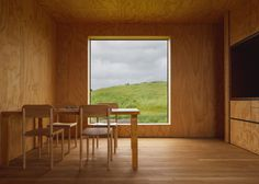 Eyrie - Small Vacation Cabins - Cheshire Architects - New Zealand - Dining Area - Humble Homes