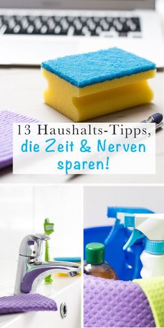 Fast & easy: 13 household tips for working mothers – Home Diy Organizations Organisation Hacks, Household Organization, Diy Organization, Deep Cleaning Tips, House Cleaning Tips, Cleaning Hacks, Hacks Diy, Mom Hacks, Clean House Schedule